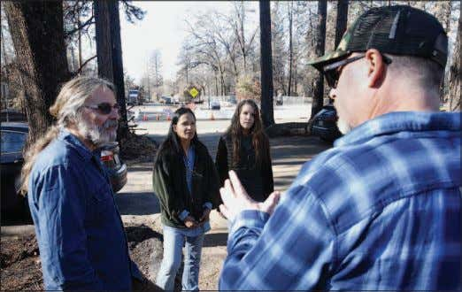 far right. To see the video, go to www.mercurynews.com. KARL MONDON — STAFF PHOTOGRAPHER Michael and