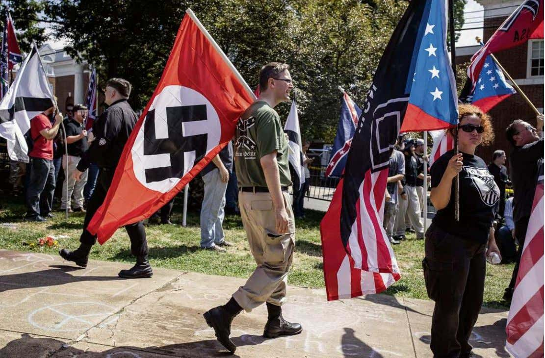 EDU BAYER / THE NEW YORK TIMES / LAIF Alt-Right-Demonstranten in Charlottesville: Sie vereint nicht viel,
