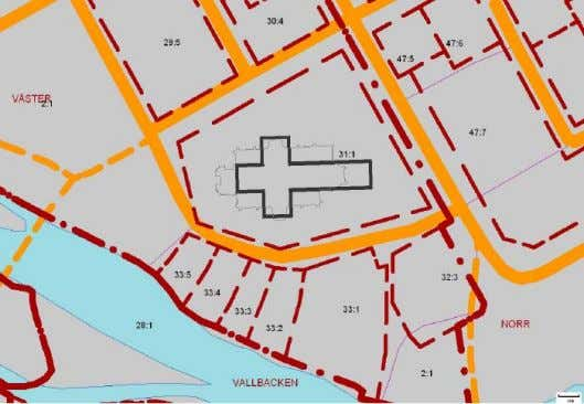 all the in formation in the cadastral index map in Sweden. Example of extract from the