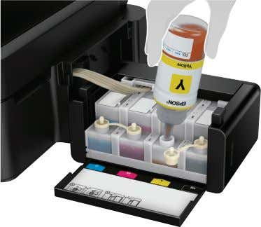 width to ensure smooth and reliable ink flow at all times. Great Speeds, Better Productivity Improved