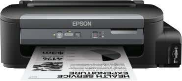 quality with your L-series printer. PARTNERS IN PERFECTION Epson M100 Ink Tank Printer Lower your business's