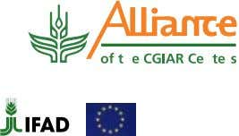 Collective Action News Updates from agricultural research in Africa March 2010 Issue No 18 Regional partnerships
