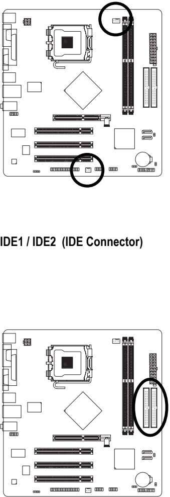 IDE1 / IDE2 (IDE Connector)