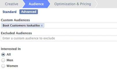 greater reach 4 Access your Lookalike Audience in 6-24 hours 5 Layer Core Audiences for further