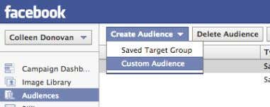 4 Include or exclude your Custom Audience in targeting 5 Layer Core Audiences for further segmentation