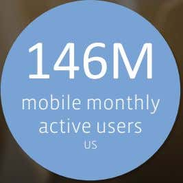 146M mobile monthly active users US