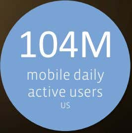 104M mobile daily active users US