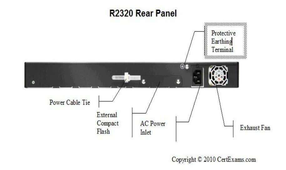 4.2. Rear Panel of J2320 router 4.3. J-Series Router Configuration There are two user interfaces to