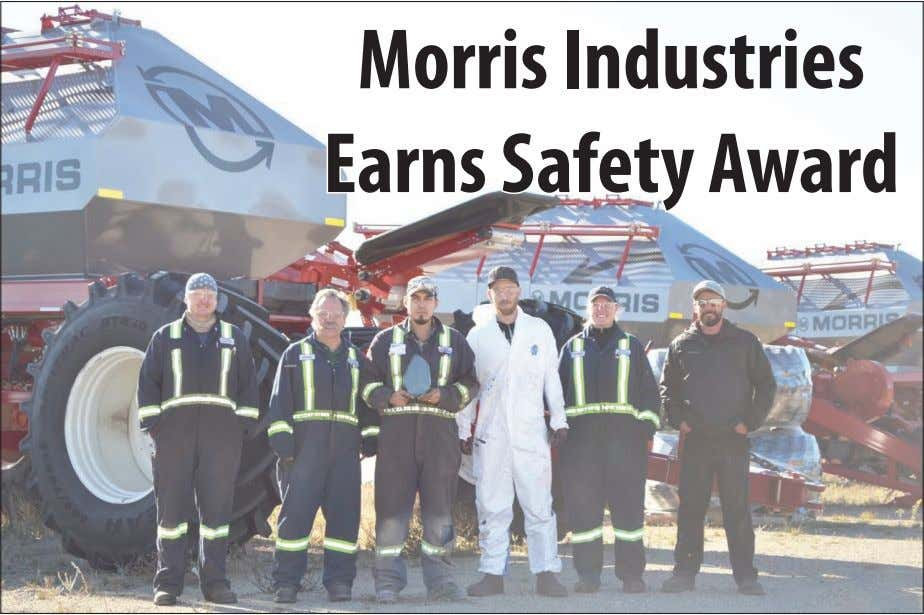 Morris Industries Earns Safety Award