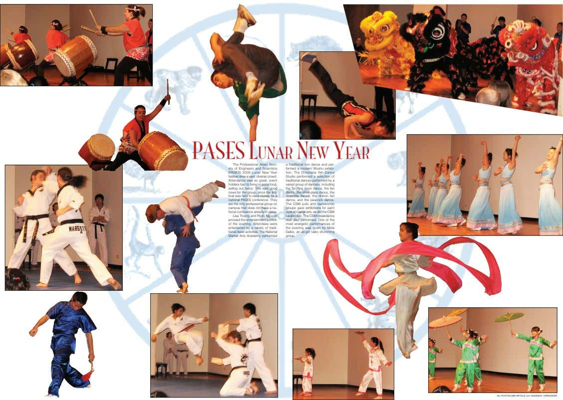 PASES LunAr nEw YEAr The Professional Asian Soci- ety of Engineers and Scientists (PASES) 2009