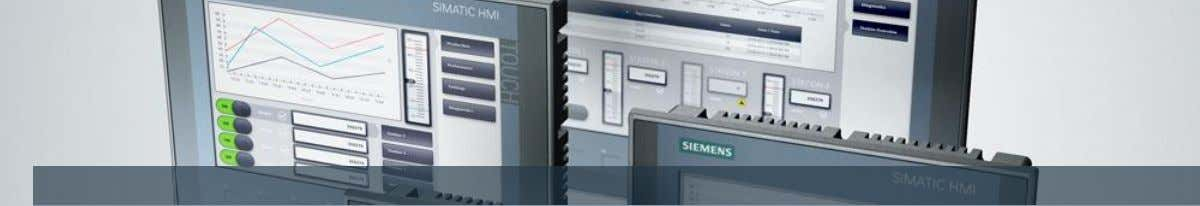 SIMATIC HMI Basic Panels 2 n d Generación Unrestricted / © Siemens AG 2015. All