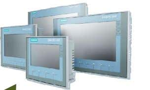 PROFIBUS and PROFINET Basic Panels 2 n d generation Basic Panels Display Fácil cambio de pantalla