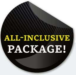 all-inclusive package!