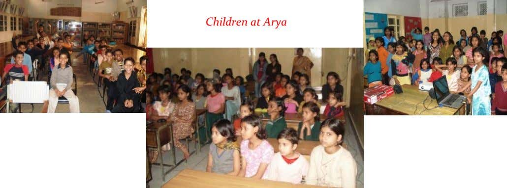 Children at Arya