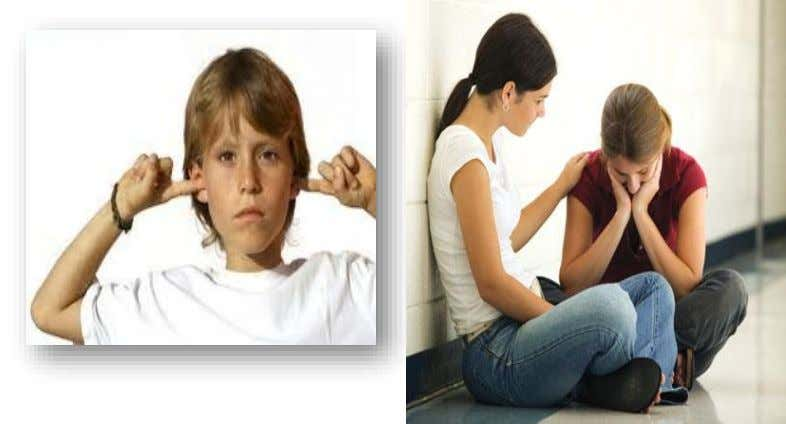 Some common behavior problems in adolescence are :