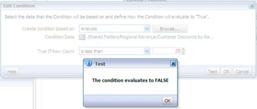 25 records, therefore this test should evaluate to False . c. Your results are verified. Click