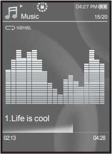 Music 15/20 1.Life is cool 02:13 04:28