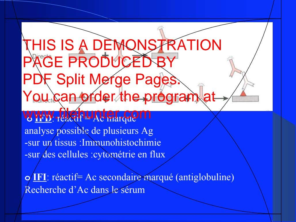 THIS IS A DEMONSTRATION PAGE PRODUCED BY PDF Split Merge Pages. You can order the