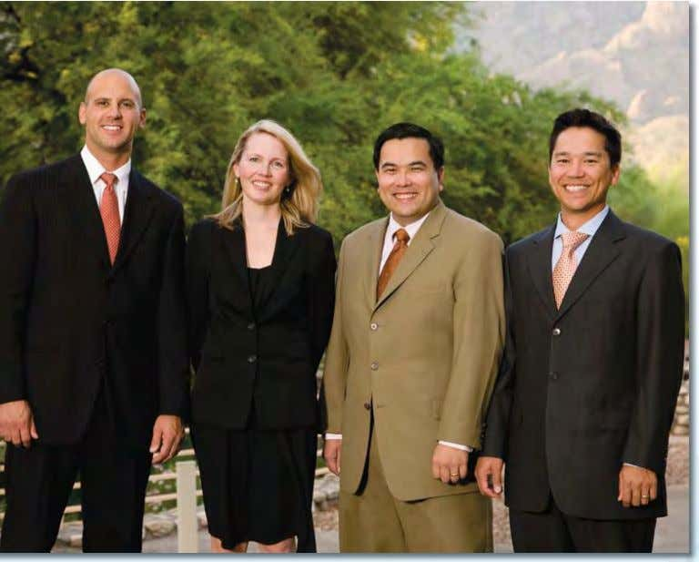 Cameron Javid MD, April Harris MD, Egbert Saavedra MD, Mark Walsh MD One of the