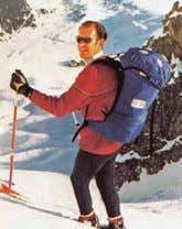 first rucksack with an internal frame, is launched. 1977 Doug Scott and Sir Chris Bonington reach