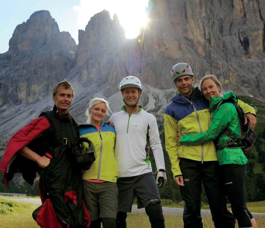 we listen. Leo Houlding, Leah Crane, Rob Jarman, Philippe and Anna Gatta (l-r), pictured in the