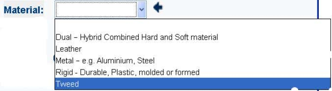 Elements Descriptive Elements consist of 1. Material 2. Basic 3. And External elements: The letters XXX