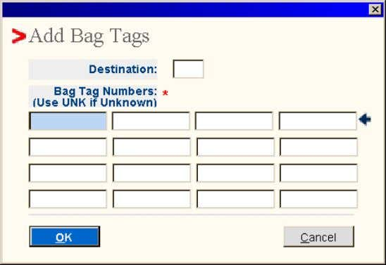 If multiple PNRs match the flight/date-name entered, the list of PNRs is displayed on screen