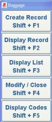 system. Select the Display Codes label <Shift+F5>. The Display Codes pop-up window displays: • Select