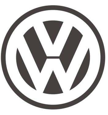 Graphic identity for Volkswagen. Logo for electronic music band Linkin Park. Television series Futurama.
