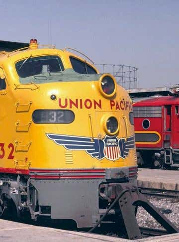 Mainly and usually in advertising. Graphic identity of Union Pacific Railroad. Swissair 1950-1990 logo.