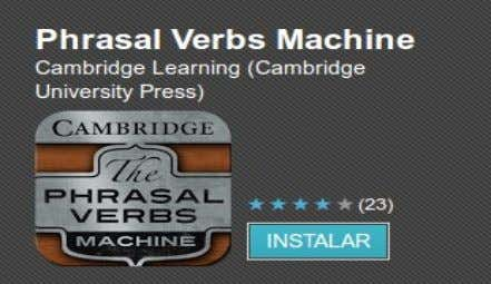 "Machine de CAMBRIDGE LEARNING (CAMBRIDGE UNIVERSITY PRESS) ""En Cambridge University Press sabemos que los Phrasal"