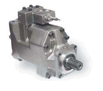 Bombas de Caudal Variable VariableDisplacementPumps SERIES SERIE VP1 The VP1 is the first hydraulic pump of
