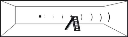 User's manual The figure shows a wrong measurment of the ladder instead of the wall, as