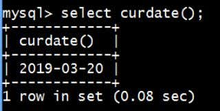 Date and Time Functions a) Curdate(): It returns the current date of your system. XII-IP-NOTES/MYSQL REVISION