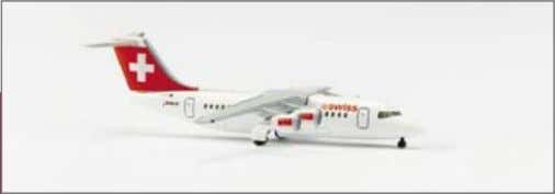 has been added, as well as a rock ptarmigan on the fuselage. 510455 Swiss Air Lines