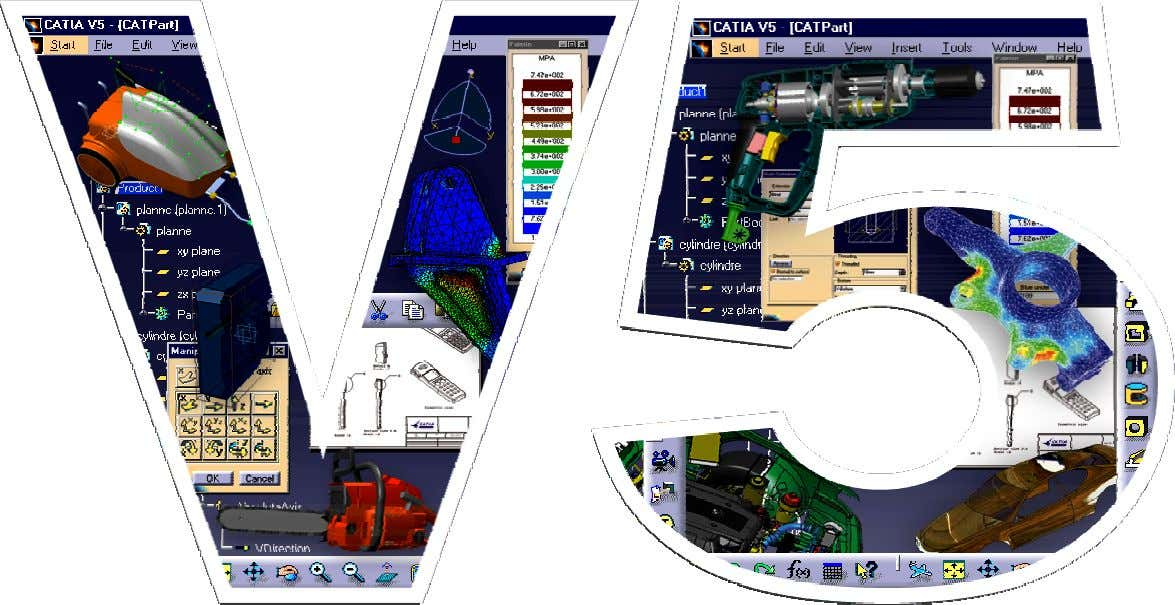 CATIA Formation Surfacique V5 Exercices de Surfacique Page 1