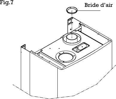 Fig.7 Bride d'air