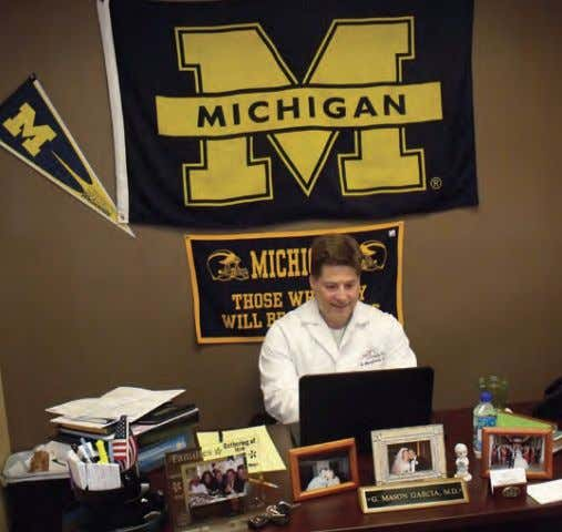 plans may reimburse patients anywhere from 20 to 80 percent. Michigan fan much?!? Dr. G. Mason