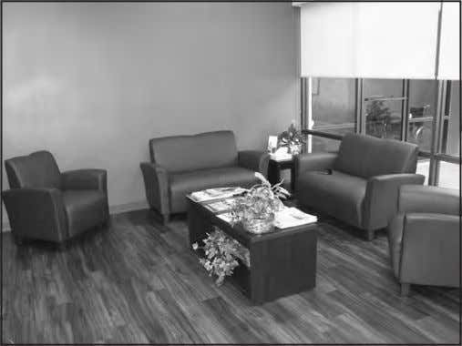 "confident I will be able to do procedures at hospitals."" Dr. Garcia's waiting room promotes a"