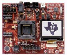 manufactured by Texas Instruments and shown in Figure 5. FIGURE 5 M ICROCONTROLLER UNIT This is