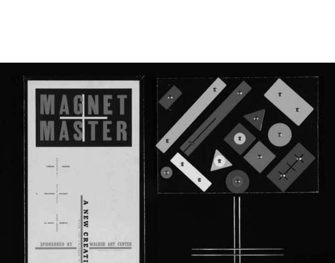 Creative Playthings 145 Fig. 9. Carradan Associates, Magnet Master, 1948 . (Collection Centre Canadien