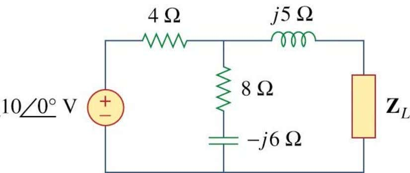 maximizes the average power drawn from the circuit. What is the maximum average power? Chap 11