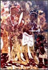 surfaces to show one's artistic skill (Fig. 7.1). 82 Cave painting Wood painting Fig. 7.1 Different