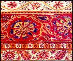 "from this, a distinctive term ""Kalamkari"" is derived. ""Kalamkari"" is a 3000-year-old art form that took"