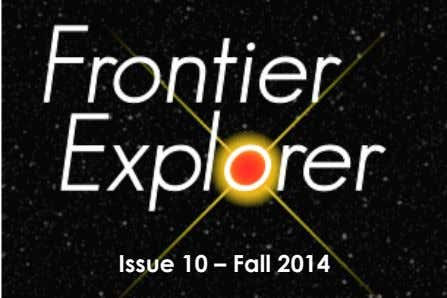 Issue 10 – Fall 2014