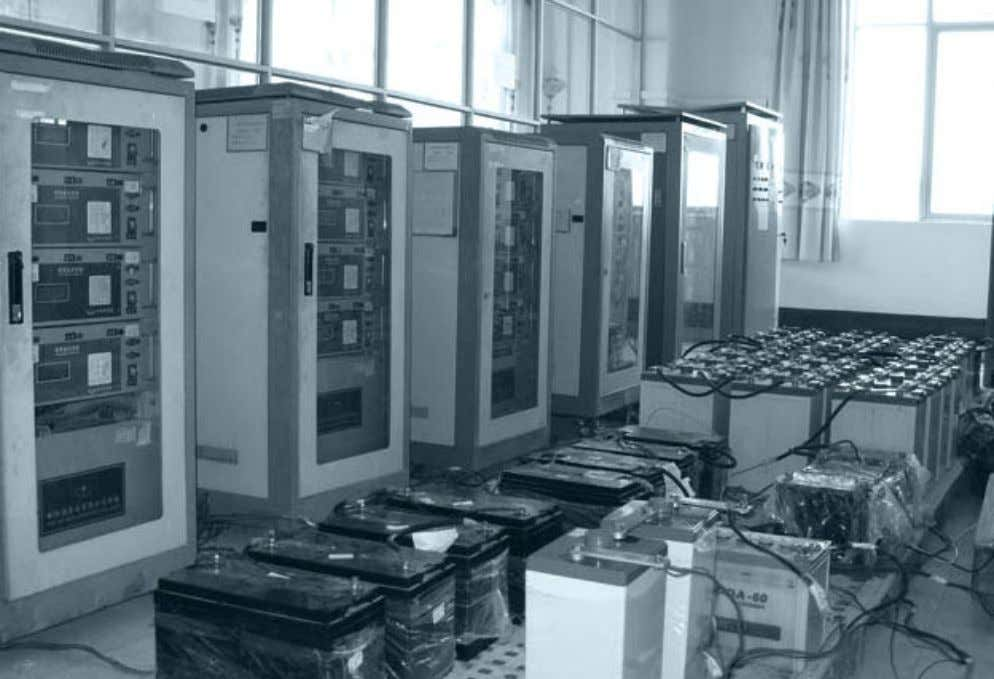 for auxiliary power supply in substations and power plants Different types of battery used for auxiliary