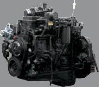 to meet your needs. Powerful Engine Cummins QSB6.7 Engine 119 kW / 2,200 rpm 731.6 N.m