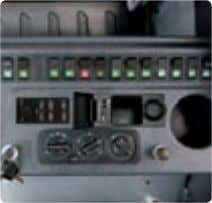 4 possible camera channels, all blind spots are eliminated. Concentrated switch panel MP3 / CD Player