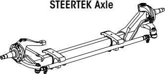 STEERTEK Axle