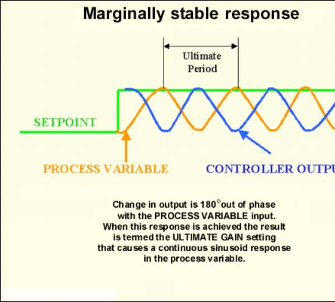 Maintenance Online Page 4 of 7 Once a marginally stable response is obtained, all the information